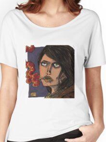 smoking girl Women's Relaxed Fit T-Shirt