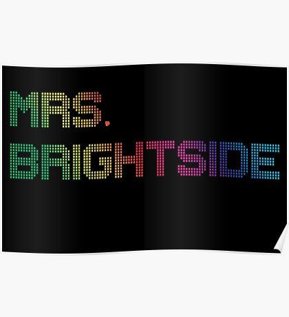 mrs. brightside Poster