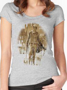 A Man's Gotta Do, What A Man's Gotta Do Women's Fitted Scoop T-Shirt