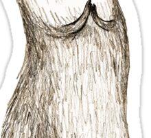 Sitting Otter Sticker