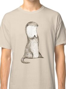 Sitting Otter Classic T-Shirt