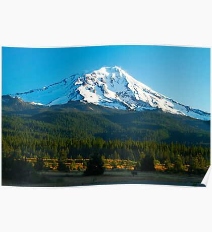 Mt. Shasta At Dawn Poster
