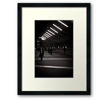 Melbourne Winter Night Framed Print