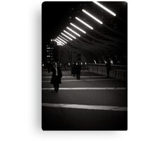 Melbourne Winter Night Canvas Print