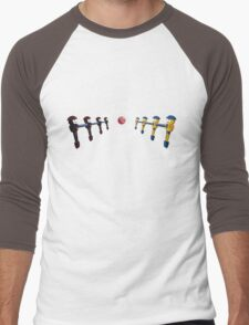 Big League Foosball | Community Men's Baseball ¾ T-Shirt