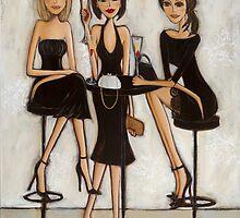 Trois Petite Robes Noires - 3 little black dresses by Denise Daffara