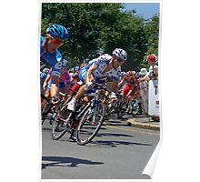 The Peleton, Stage 6, City Circuit, Tour Down Under 2012 Poster