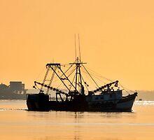 Shrimp Boat  by Unelanvhi