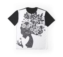 Girl Typography Graphic T-Shirt
