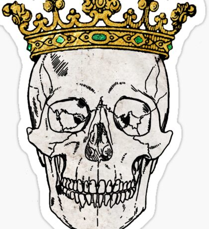 The Skull King Sticker
