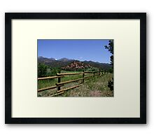 Upper Beaver Creek Wildlife Area Framed Print