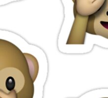 Monkey Emoji Sticker