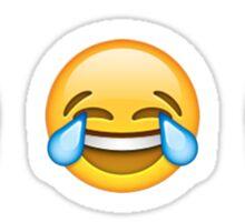 Emoji Smilies - Laughing Crying ×9 Sticker