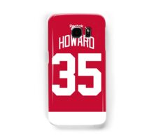 Detroit Red Wings Jimmy Howard Jersey Back Phone Case Samsung Galaxy Case/Skin