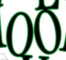 Velo Hoodlum - MOTIVES Sticker