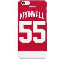 Detroit Red Wings Niklas Kronwall Jersey Back Phone Case iPhone Case/Skin