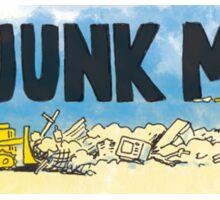 No Junk Mail Landfill  Sticker