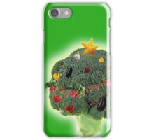 Merry Veggie Christmas! iPhone Case/Skin