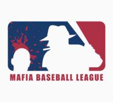 Mafia Baseball League (for white shirts) by Rossman72