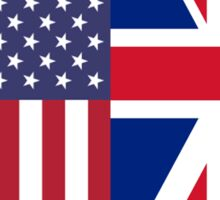 USA & UK Sticker