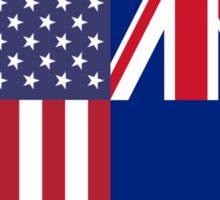 USA & NZ Sticker