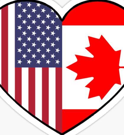 USA & Canada Sticker