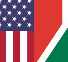 USA & South Africa Sticker
