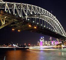 Vivid Bridge Horizon by Dannel Sargent