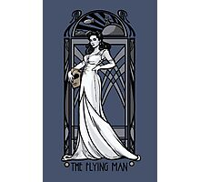The Flying Man Photographic Print