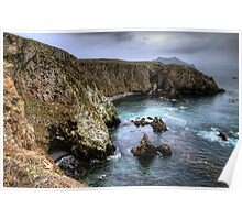Cathedral Cove - Anacapa Island Poster