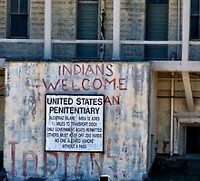 """Alcatraz III """"Indians Welcomed"""" by ZWC Photography"""