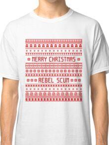 Merry Christmas Rebel Scum Classic T-Shirt