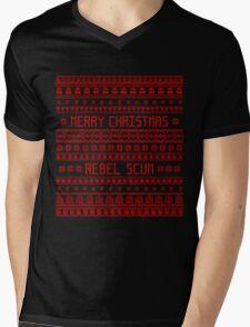 Merry Christmas Rebel Scum Mens V-Neck T-Shirt