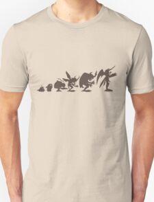 Evolution of Monsters 4 (light version) T-Shirt