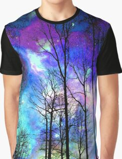 The purple sky Graphic T-Shirt