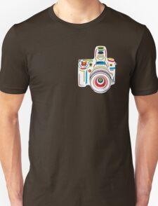 Rainbow Camera Fun Unisex T-Shirt