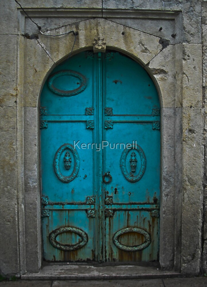 Old Blue Door by KerryPurnell