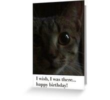 Happy birthday from MEG Greeting Card