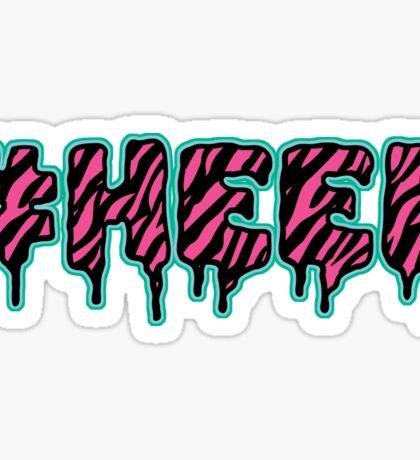 #HEEL - Electric Sticker