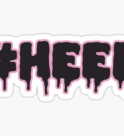 #HEEL - Pastel B Sticker