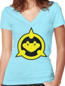 Battletoads Women's Fitted V-Neck T-Shirt