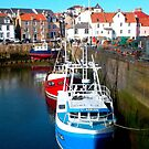 Fishing Boats at Pittenweem Harbour by ©The Creative  Minds