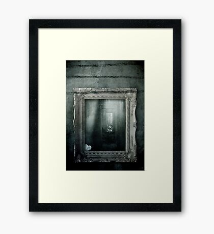 Soul Mirror Framed Print