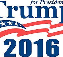 Trump 2016 by Paducah