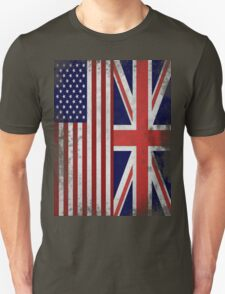 Distressed Flags: American/British T-Shirt