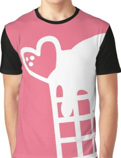 Pink Bubble Gum Snow Cone Graphic T-Shirt