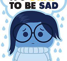 It's Okay to be Sad by Jade Wan