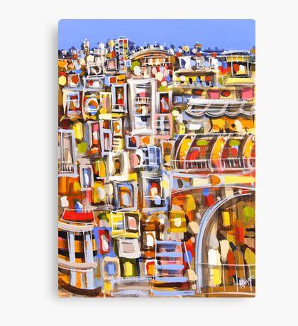 Urban complex Canvas Print