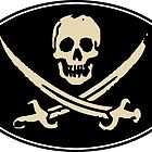 Jolly Roger - Sticker by cpinteractive