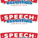 Speech Essentials Sticker by DetourShirts
